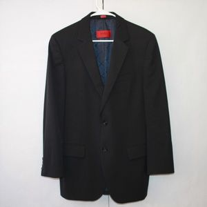 Hugo Boss Men's 40 Regular Black Suit Jacket